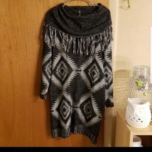 Romeo & juliet couture cowl neck sweater dress
